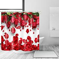 お買い得  浴室用小物-シャワーカーテン&フック 近代の ポリエステル ノベルティ柄 機械製 防水