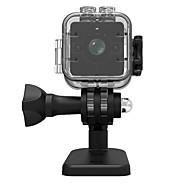 baratos Acessórios Eletrônicos-1080p sq12 mini dv câmera de ação gravador esporte 30 m à prova d 'água shell micro camcorder / 155wide angle / night vision