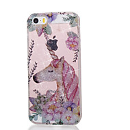 economico Accessori iPod-Custodia per apple ipod touch5 / 6 cover case alta penetrazione polvere imd unicorn custodia morbida per telefono tpu