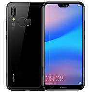 billige Skærmbeskyttelse-Skærmbeskytter Huawei for Huawei P20 lite PET Hærdet Glas 3 stk Front & Back & Camera Lens Protector Anti-Glans Anti-fingeraftryk