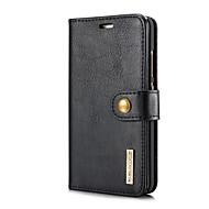お買い得  -ケース 用途 Huawei P10 Plus カードホルダー スタンド付き フリップ フルボディーケース 純色 ハード 本革 のために P10 Plus