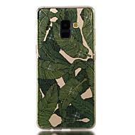 Недорогие Чехлы и кейсы для Galaxy A3(2017)-Кейс для Назначение SSamsung Galaxy A8 2018 A8 Plus 2018 IMD С узором Кейс на заднюю панель Сияние и блеск дерево Мягкий ТПУ для A3