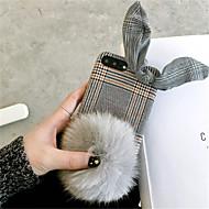 Недорогие Кейсы для iPhone 8-Кейс для Назначение Apple iPhone X iPhone 7 Plus С узором Кейс на заднюю панель Полосы / волосы Твердый ПК для iPhone X iPhone 8 Pluss