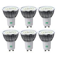 voordelige LED-spotlampen-YWXLIGHT® 6pcs 7W 600-700 lm GU10 LED-spotlampen 48 leds SMD 2835 Warm wit Koel wit Natuurlijk wit