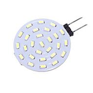 billiga -SENCART 1st 1.5 W LED-lampor med G-sockel 160 lm G4 T 27 LED-pärlor SMD 4014 Dekorativ Varmvit Vit 12 V