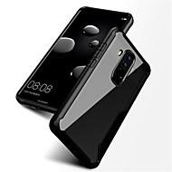 お買い得  携帯電話ケース-ケース 用途 Huawei Mate 10 pro Mate 10 耐衝撃 半透明 バックカバー 純色 ハード PC のために Mate 10 Mate 10 pro