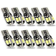 billiga -SENCART 10pcs T10 Bilar Glödlampor 3 W SMD 5630 240 lm 8 LED innerbelysningen Till General Motors Alla år