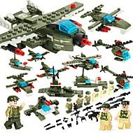 お買い得  -BEIQI ブロックおもちゃ 452 pcs 軍隊 ストレスや不安の救済 減圧玩具 親子インタラクション カトゥーン チャイナデザイン 飛行機 ヘリコプター 戦闘機 男の子 女の子 おもちゃ ギフト