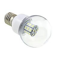 Χαμηλού Κόστους Λαμπτήρες LED σφαίρα-4 W 3000-3500 lm E26/E27 LED Λάμπες Σφαίρα G60 27 leds SMD 5730 Θερμό Λευκό DC 24V AC 24V AC 12V DC 12V