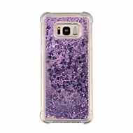 Недорогие Чехлы и кейсы для Galaxy S8 Plus-Кейс для Назначение SSamsung Galaxy S9 S9 Plus Защита от удара Сияние и блеск Кейс на заднюю панель Градиент цвета Сияние и блеск Мягкий