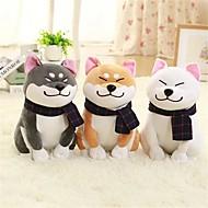 abordables Muñecas y Peluches-1PC Wear scarf Shiba Inu Perros Animales de peluche y de felpa Encantador Exquisito Confortable Chica Juguet Regalo 1 pcs