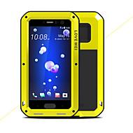 preiswerte Handyhüllen-Hülle Für HTC U11 Stoßresistent Wasserfest Ganzkörper-Gehäuse Volltonfarbe Hart Metal für HTC U11