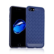 Недорогие Кейсы для iPhone 8 Plus-Кейс для Назначение Apple iPhone 8 iPhone 8 Plus Защита от удара Кейс на заднюю панель Геометрический рисунок Мягкий ТПУ для iPhone 8