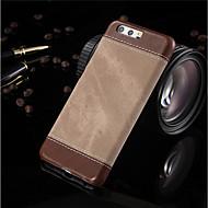 お買い得  携帯電話ケース-ケース 用途 Huawei P10 Plus / P10 耐衝撃 バックカバー 純色 ハード PUレザー のために P10 Plus / P10 / Huawei P9 Lite