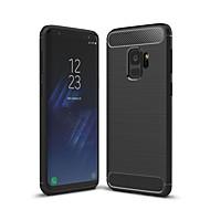 Недорогие Чехлы и кейсы для Galaxy S9 Plus-Кейс для Назначение SSamsung Galaxy S9 S9 Plus Защита от удара Кейс на заднюю панель Сплошной цвет Мягкий ТПУ для S9 Plus S8 Plus S8 S7