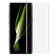 Недорогие Чехлы и кейсы для Galaxy Note-Защитная плёнка для экрана Samsung Galaxy для Note 8 PET 1 ед. Защитная пленка на всё устройство 3D закругленные углы Защита от царапин