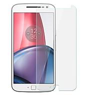 お買い得  スクリーンプロテクター-スクリーンプロテクター Motorola のために Moto G4 Plus 強化ガラス 1枚 スクリーンプロテクター 傷防止 硬度9H