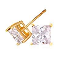 お買い得  -女性用 スタッドピアス  -  ゴールドメッキ ファッション ゴールド / シルバー 用途 日常 デート