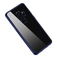 Недорогие Чехлы и кейсы для Galaxy S9 Plus-Кейс для Назначение SSamsung Galaxy S9 Plus / S9 Покрытие Кейс на заднюю панель Однотонный Мягкий ТПУ для S9 / S9 Plus