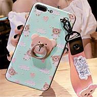 abordables Estuches Cool & Fashion para iPhone-Funda Para Apple iPhone 7 Plus / iPhone 6 Plus Diseños Funda Trasera Caricatura Suave Silicona para iPhone 8 Plus / iPhone 8 / iPhone 7 Plus