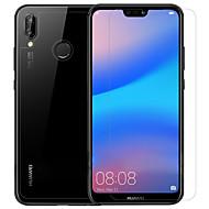 halpa Näytön suojakalvot-Näytönsuojat Huawei varten Huawei P20 lite PET 3 kpl Etu & takavalokamera ja objektiivisuojus Anti-Glare Tahraantumaton Naarmunkestävä