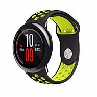 Недорогие Аксессуары для смарт-часов-Ремешок для часов для Huami Amazfit A1602 Xiaomi Спортивный ремешок силиконовый Повязка на запястье