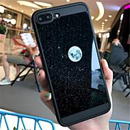 Недорогие Кейсы для iPhone 8 Plus-Кейс для Назначение Apple iPhone X iPhone 7 Plus С узором Кейс на заднюю панель Пейзаж Мягкий ТПУ для iPhone X iPhone 8 Pluss iPhone 8