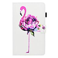 preiswerte Tablet Zubehör-Hülle Für Amazon Kindle Fire hd 7.0 Kreditkartenfächer / Stoßresistent / mit Halterung Ganzkörper-Gehäuse Flamingo Hart PU-Leder für Kindle Fire hd 7.0