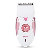 Недорогие Мелкая бытовая техника-Kemei Эпилятор для Муж. и жен. 110-240 V Индикатор питания / Карманный дизайн / Легкий и удобный
