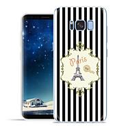 Χαμηλού Κόστους Galaxy S6 Edge Plus Θήκες / Καλύμματα-tok Για Samsung Galaxy S8 Plus S8 Με σχέδια Πίσω Κάλυμμα Πύργος του Άιφελ Μαλακή TPU για S8 Plus S8 S7 edge S7 S6 edge plus S6 edge S6