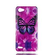 preiswerte Handyhüllen-Hülle Für LG V30 Q6 Muster Rückseite Schmetterling Weich TPU für LG X Style LG X Power LG V30 LG Q6 LG K10 LG K8