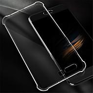 Недорогие Чехлы и кейсы для Huawei Honor-Кейс для Назначение Huawei Honor 9 Защита от удара Прозрачный Кейс на заднюю панель Сплошной цвет Мягкий Силикон для Honor 9