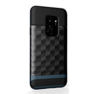Недорогие Чехлы и кейсы для Galaxy S9-Кейс для Назначение SSamsung Galaxy S9 S9 Plus Защита от удара Кейс на заднюю панель броня Твердый ПК для S9 Plus S9 S8 Plus S8