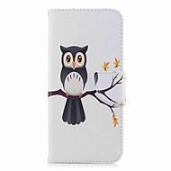 Недорогие Чехлы и кейсы для Galaxy S9 Plus-Кейс для Назначение SSamsung Galaxy S9 Plus / S9 Кошелек / Бумажник для карт / со стендом Чехол Сова Твердый Кожа PU для S9 / S9 Plus / S8 Plus