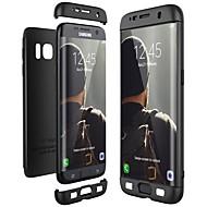 Недорогие Чехлы и кейсы для Galaxy S7-Кейс для Назначение SSamsung Galaxy S9 S9 Plus Защита от удара Ультратонкий Чехол Сплошной цвет Твердый ПК для S9 Plus S9 S8 Plus S8 S7