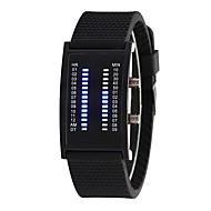 abordables Relojes de Moda-Hombre Mujer Reloj de Moda Digital 30 m Reloj Casual Silicona Banda Digital Moda Negro - Negro Un año Vida de la Batería