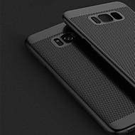 olcso Galaxy S7 Edge tokok-Case Kompatibilitás Samsung Galaxy S8 Plus S8 Ultra-vékeny Fekete tok Tömör szín Kemény PC mert S8 Plus S8 S7 edge S7 S6 edge plus S6 edge