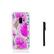 Недорогие Чехлы и кейсы для Galaxy S7 Edge-Кейс для Назначение SSamsung Galaxy S9 S9 Plus Полупрозрачный Кейс на заднюю панель Фрукты Мягкий ТПУ для S9 Plus S9 S8 Plus S8 S7 edge S7