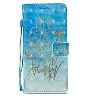 Недорогие Чехлы и кейсы для Galaxy S9-Кейс для Назначение SSamsung Galaxy S9 S9 Plus Бумажник для карт Кошелек со стендом Флип Магнитный Чехол Слова / выражения Твердый Кожа PU