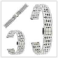 Недорогие Часы для Samsung-Ремешок для часов для Gear S3 Frontier Gear S3 Classic Samsung Galaxy Бабочка Пряжка Металл Нержавеющая сталь Повязка на запястье