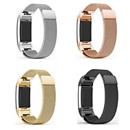 cheap Smartwatch Accessories-Watch Band for Fitbit Charge 2 Fitbit Milanese Loop Metal / Stainless Steel Wrist Strap