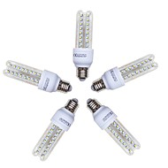 お買い得  LED コーン型電球-5個 9W 720lm E26 / E27 LEDコーン型電球 T 48 LEDビーズ SMD 2835 クールホワイト 220-240V