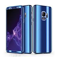 Недорогие Чехлы и кейсы для Galaxy S9-Кейс для Назначение SSamsung Galaxy S9 S9 Plus Покрытие Чехол Однотонный Твердый ПК для S9 Plus S9 S8 Plus S8 S7 edge S7