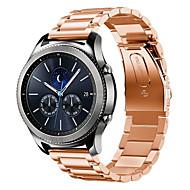 Недорогие Часы для Samsung-Ремешок для часов для Gear S3 Frontier Gear S3 Classic Samsung Galaxy Классическая застежка Стали Повязка на запястье
