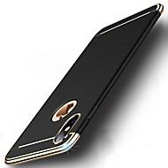 Недорогие Кейсы для iPhone 8 Plus-Кейс для Назначение Apple iPhone X iPhone 8 Защита от удара Покрытие Ультратонкий Чехол Однотонный Твердый ПК для iPhone X iPhone 8 Pluss