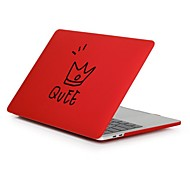 """abordables Fundas, Bolsas y Estuches para Mac-MacBook Funda para Palabra / Frase El plastico Nuevo MacBook Pro 15"""" Nuevo MacBook Pro 13"""" MacBook Pro 15 Pulgadas MacBook Air 13"""