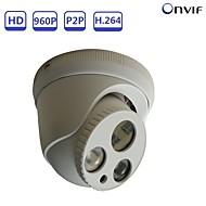 お買い得  -strongshine®1.3mp 960pパン/チルトフルh.264 ipドームカメラ、赤外線昼夜セキュリティ監視サポートonvif poe
