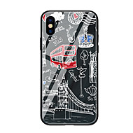 Hülle Für Apple iPhone X iPhone 8 Muster Rückseite Cartoon Design Hart Gehärtetes Glas für iPhone X iPhone 8 Plus iPhone 8 iPhone 7