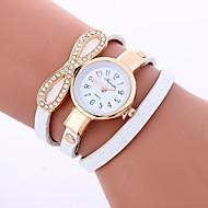 tanie Modne zegarki-Damskie Kwarcowy Modny Chiński sztuczna Diament PU Pasmo Na co dzień Modny Czarny Biały Niebieski Czerwony Szary Różowy Beżowy