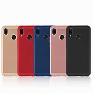 お買い得  携帯電話ケース-ケース 用途 Huawei P20 lite P20 つや消し バックカバー ソリッド ハード PC のために Huawei P20 lite Huawei P20 Pro Huawei P20 P10 Plus P10 Lite P10 Huawei P9 Lite P8